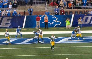 Aaron Rodgers throws a bomb to the endzone for a game winning touchdown to Richard Rodgers | Green Bay Packers @ Detroit Lions (12/03/15)