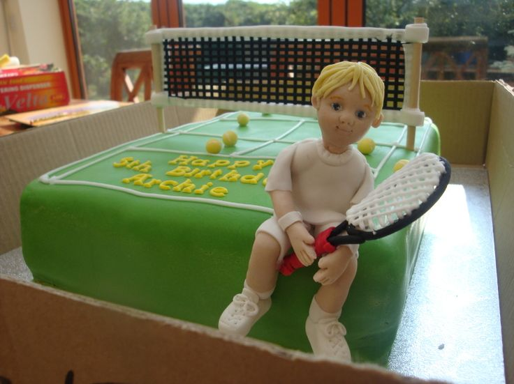 Tennis Birthday Cake Ideas