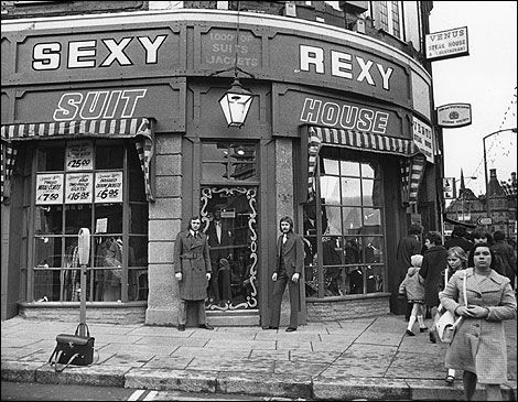 Sexy Rexy, Sheffield, 1970s