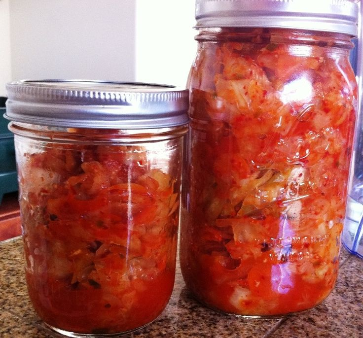 Kimchi! Seems like a good place to start my experiments with fermentation. YUM.