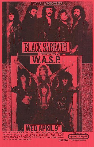 black sabbath concert posters | BLACK SABBATH POSTER ]