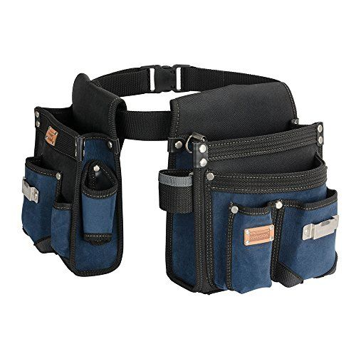 f355d2ff1b65 Heavy Duty Technician and Electrician's Waist Tool Bag with Multiple ...