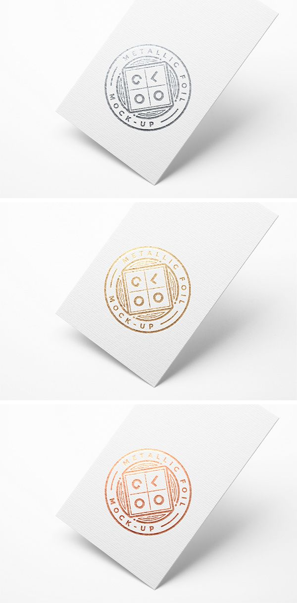 This Photoshop mock-up allows you to showcase your logo with a bit of shine. It uses smart objects to make it...