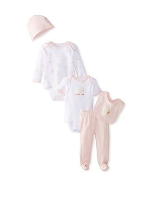 63% OFF Bunnies By the Bay Baby 5-Piece Layette Set (Pink)