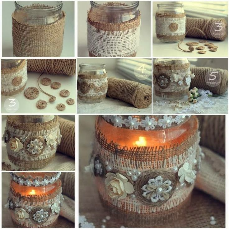 How to make Custom Vintage Candle Holder step by step DIY tutorial instructions | How To Instructions