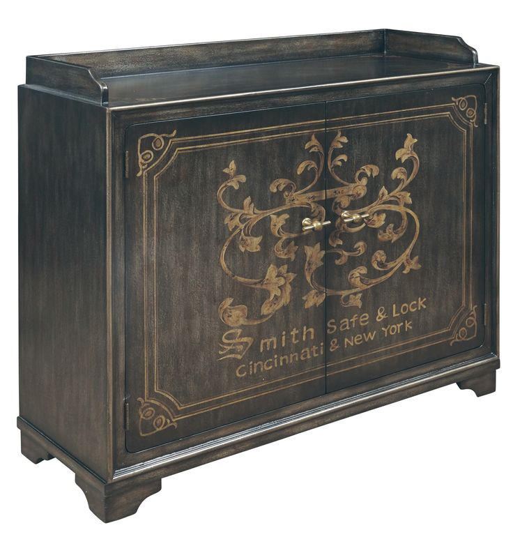 Knox Smith Safe & Lock Wine Cabinet by Pulaski - Home Gallery Stores