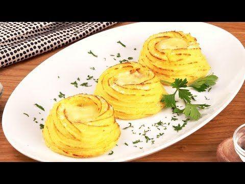 (40) Картофельные Гнезда С Сыром: Простейшая Закуска С Нежной Начинкой - YouTube