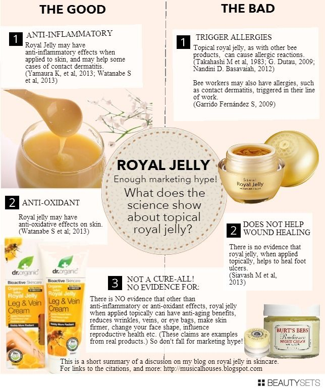 royal jelly leg and vein cream review