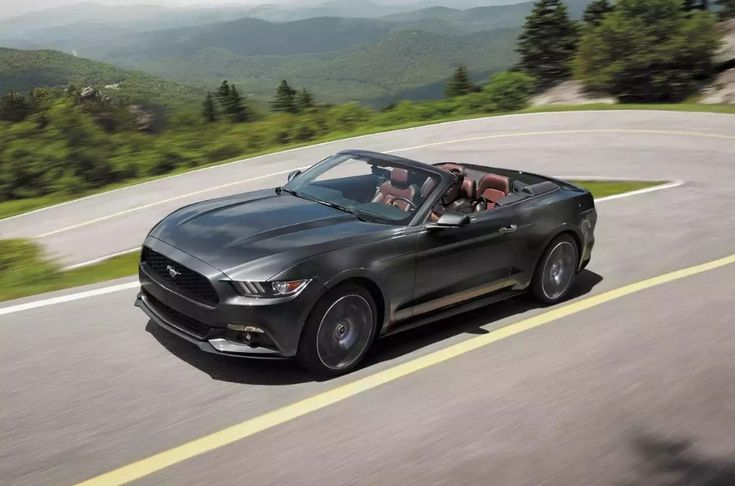 2018 Ford Mustang Convertible Test Drive