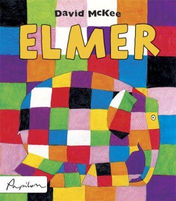 Okładka książki Elmer