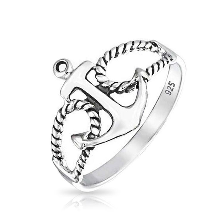 Port Bow Anchor Ring #summerstyle