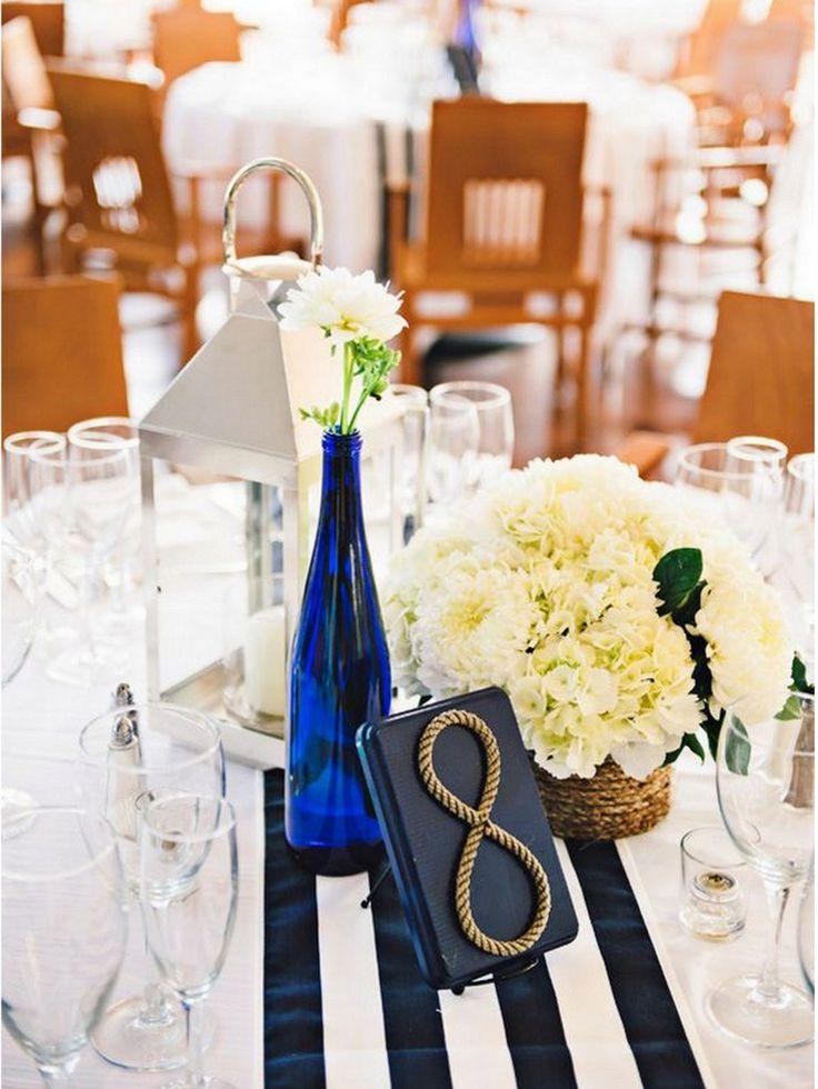 Nautical Wedding: 10 ways to Rock Your Nautical Wedding - KnotsVilla Photo by Rebekah J. Murray Photography