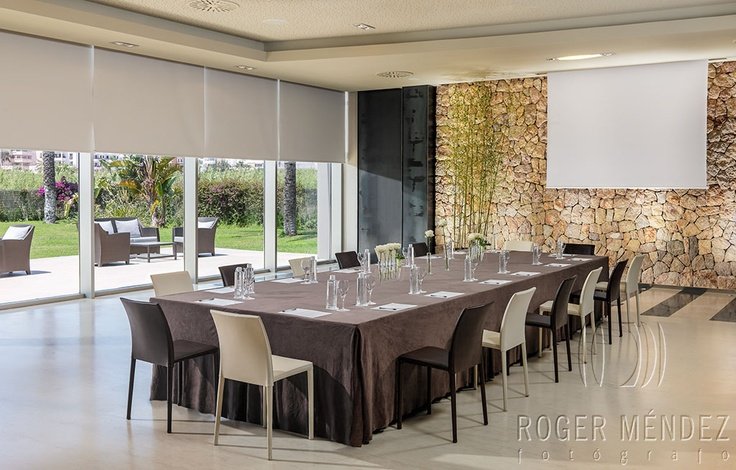 Imperial setup meeting room at Aguas de Ibiza