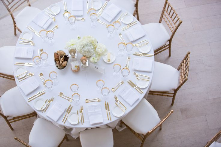 Royal Conservatory of Music wedding table decor