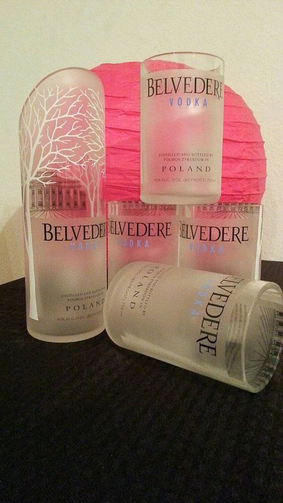 Check out this item in my Etsy shop https://www.etsy.com/listing/259821781/belvedere-vodka-drinking-glasses-and