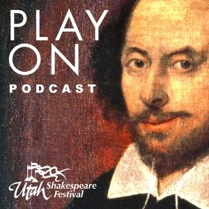 """""""Play Onwith the Utah Shakespeare Festival is a podcast series including conversations with Shakespeare experts and Festival administration, directors, actors, designers, and more.""""  #UtahShakes #PlayOn #VisitCedarCity"""