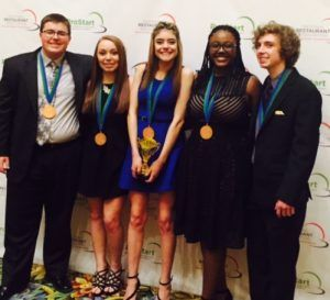 And one more round of applause for the Grandview High School ProStart team from Colorado!