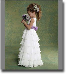 wedding flower girl dresses