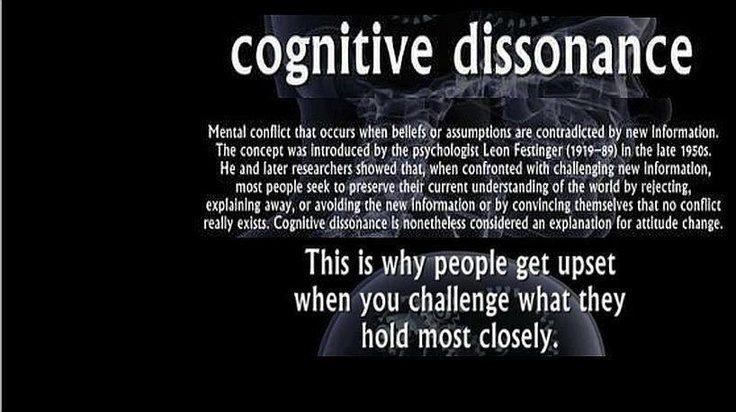 Cognitive Dissonance | Social Justice | Pinterest | Best ...