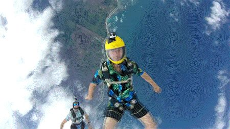 RM Videos : Coconut skydiving. #skydiving #flying #extreme #sports #gifivideo