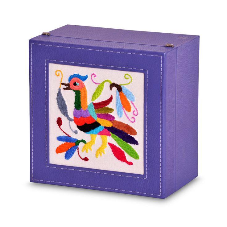 A+A Caja de té 4 divisiones Otomí - Koon Artesanos  - 2