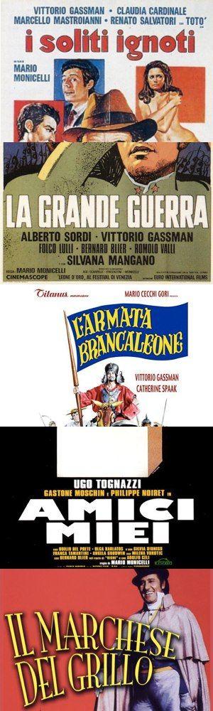 Cinque tra i migliori film di Mario Monicelli