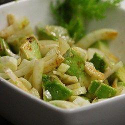 Insalata di Finocchi e Avocado (Fennel and Avocado Salad)