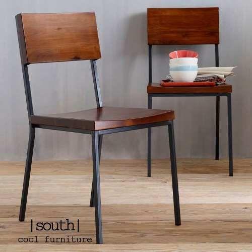silla harris - madera y hierro - comedor
