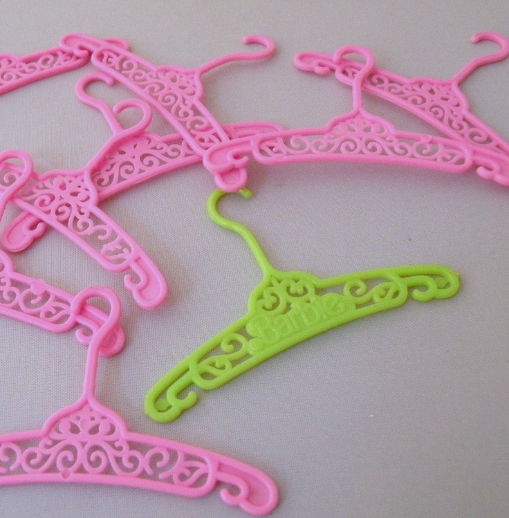 1980s Barbie | 1980s Barbie Doll | I still have my Barbie collection in the loft with these hangers !!