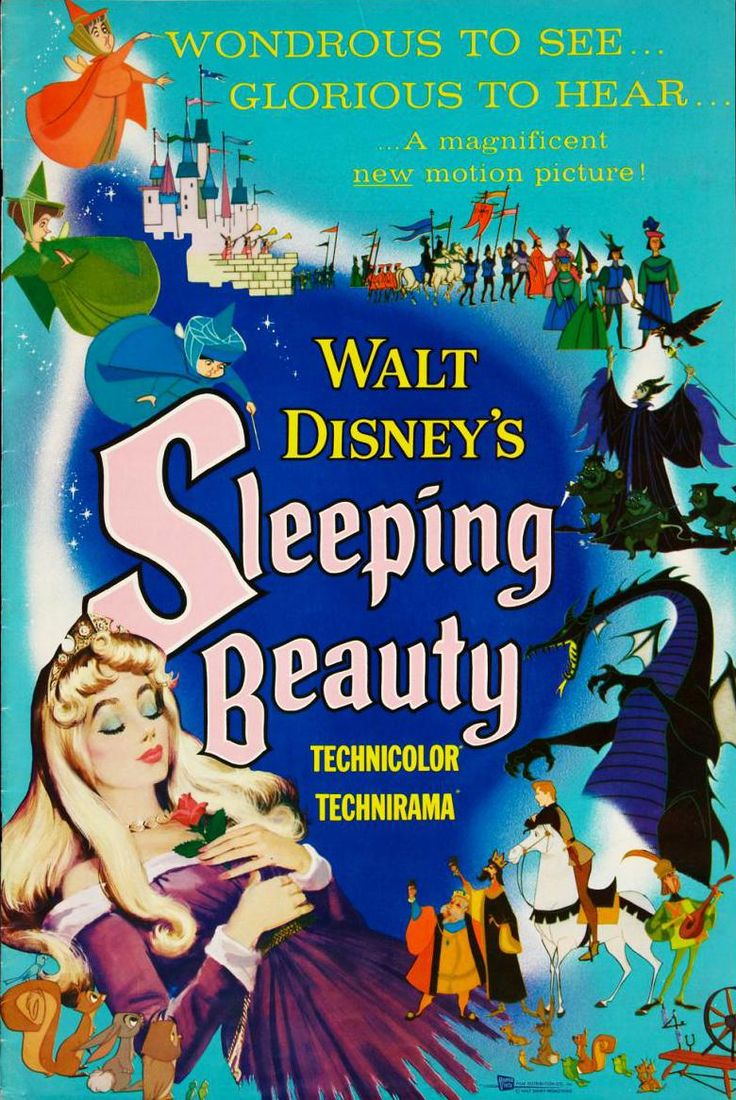 DISNEY´S SLEEPING BEAUTY // usa // Walt Disney Pictures 1959