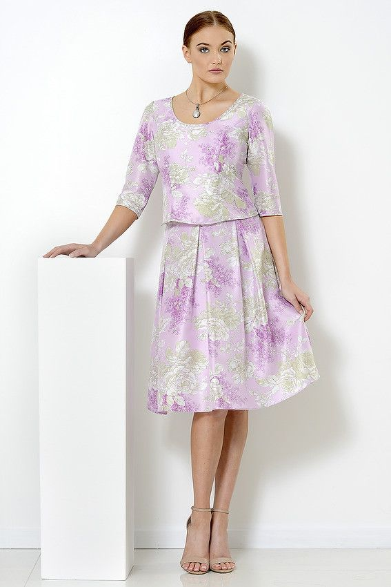 Amanda Skirt and top in soft shades of mauve, cream and oyster suitable for garden weddings, mother of the bride, race wear, Pia du Pradal Park Road, MIlton and Brisbane Arcade, Brisbane City