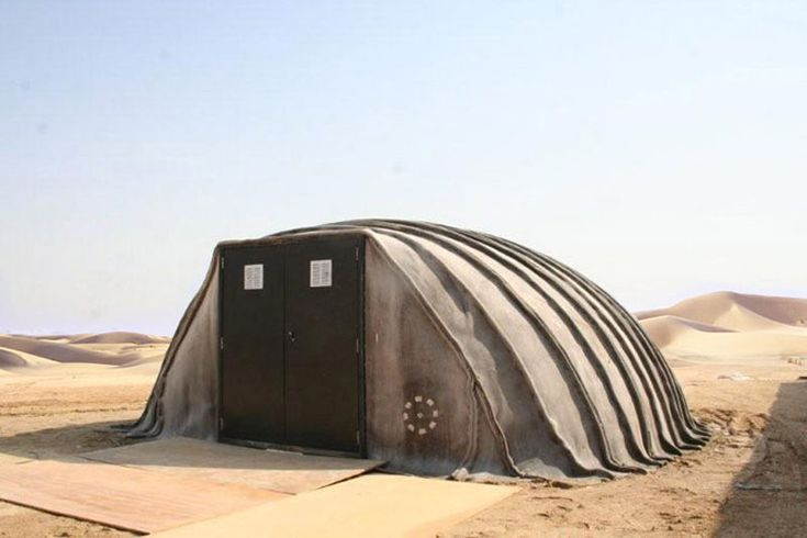 Concrete Canvas Shelter – Deployable in 24 Hours | jebiga | #concrete #shelter #design #jebiga