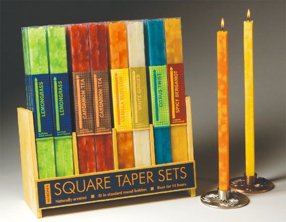 Square tapers from Maroma   The Style Page   Home ...