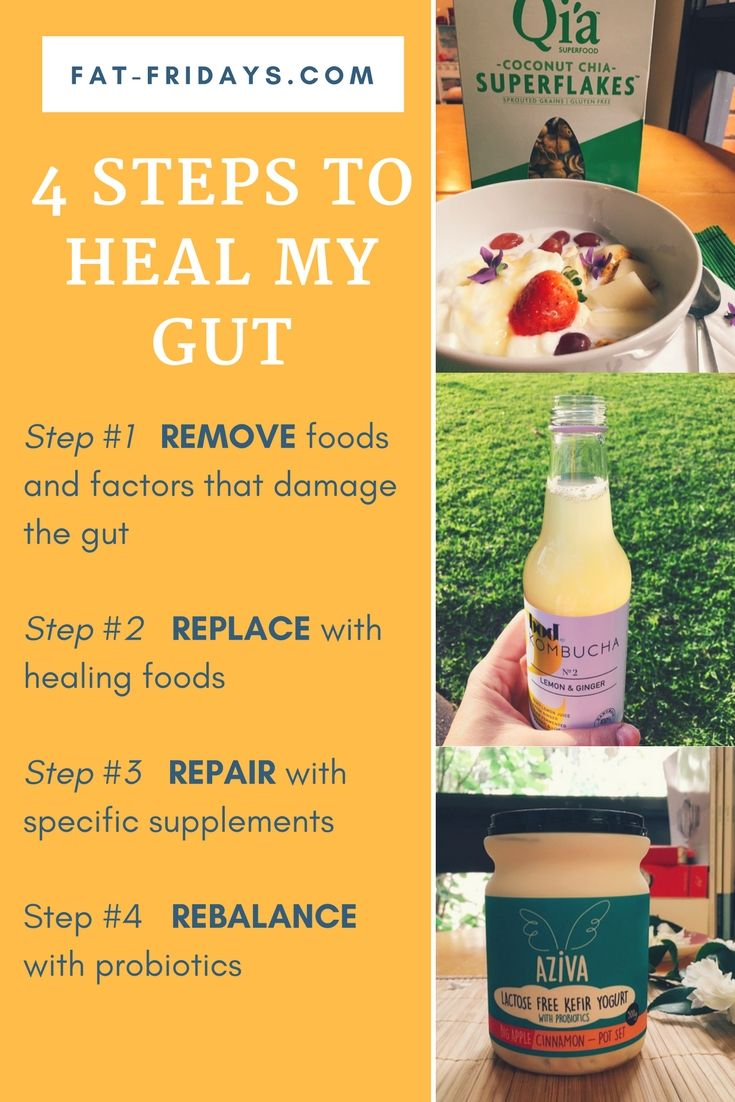 After a recent surgical procedure I feel like my gut health has reached rock bottom. So, I've started @drjoshaxe 's 4 step plan to Heal Leaky Gut and I am feeling better already. In my latest post I talk about how I'm applying the 4 steps: 1. REMOVE foods and factors that damage the gut 2. REPLACE with healing foods 3. REPAIR with specific supplements 4. REBALANCE with probiotics Click thru to find my 4 Steps to Heal  #healmygut #guthealth #loveurguts #fatfridays