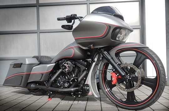 First 2015 Harley Road Glide 26 Inch Conversion  at  Cyril Huze Post – Custom Motorcycle News