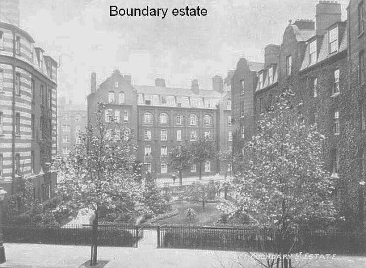 Boundary Estate, Bethnal Green, 1925