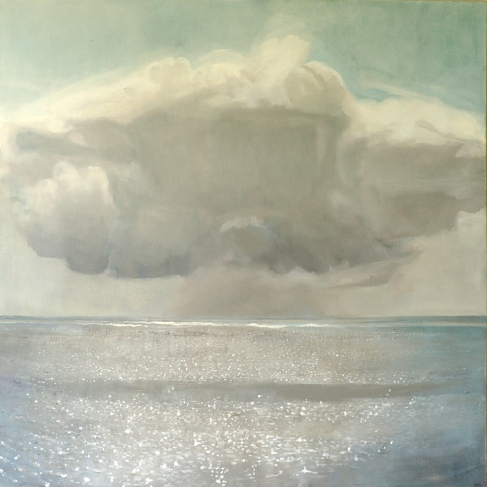 Larissa Doll, Cloud, Oil on Canvas, 137cm x 137cm, 2005