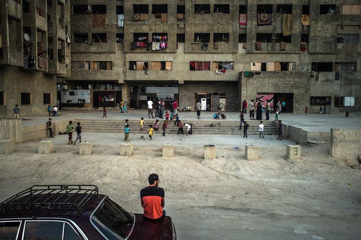Exils syriens © PU-AMI / Edouard Elias