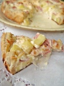 torta salata prosciutto, crescenza,patate La cucina di ASI