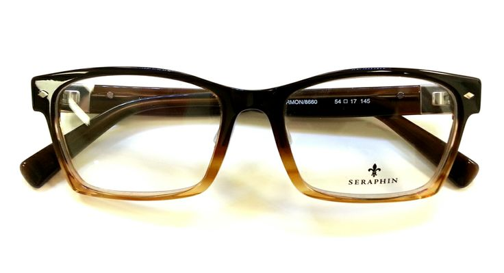 """Another version of the #retro """"Harmon"""" #eyeglass frames from Seraphin …"""