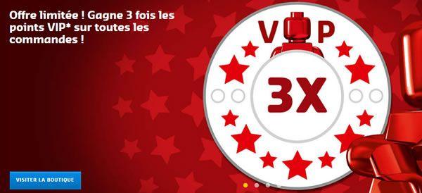 Sur le Shop@Home : Points VIP triplés !: Offre de dernière minute chez LEGO : Les points VIP sont triplés jusqu'au 23 avril prochain… #LEGO