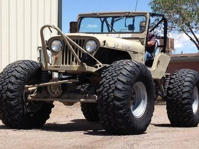 "JEEP-ROCK CRAWLER,LIFTED,CUMMINS,49""IROK,,ROCKWELLS for Sale in Las Cruces, New Mexico Classified 