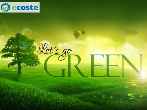 Go #Green. There is no #Planet B