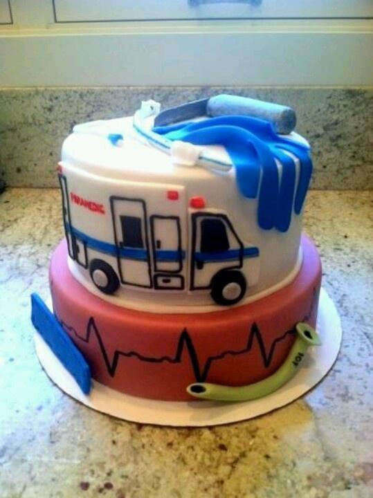 Paramedic Cake - MUST make this!