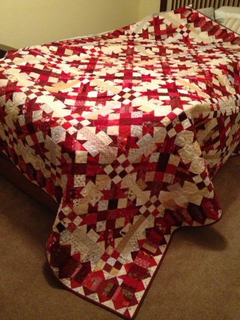 Bonnie Hunter's Talkin' Turkey pattern.  Love these colors. Love Bonnie Hunter too!:)