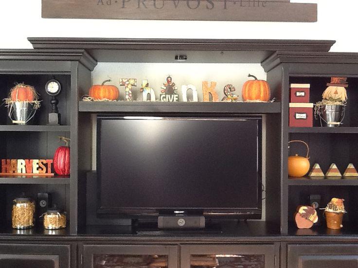 38 best seasonal entertainment center images on Pinterest ...