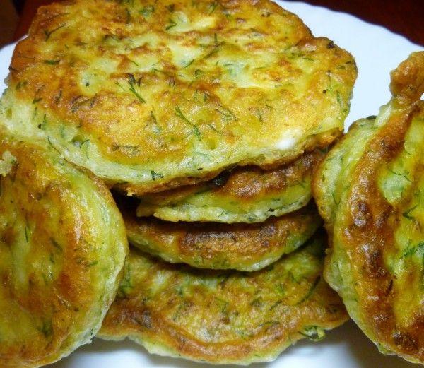 Νηστίσιμες τηγανίτες με άνηθο