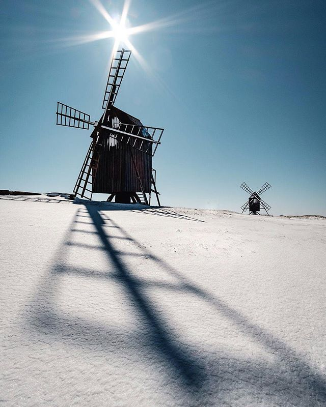 The island of sun and wind...  #weroamsweden #öland #sweden #fujifilm_xseries