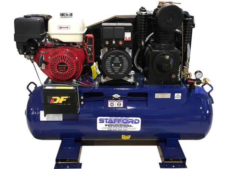 STAFFORD 3 IN1 WELDER -GENERATOR - AIR COMPRESSOR(HONDA)