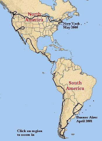 Pan American Highway - Alaska to Tierra del Fuego